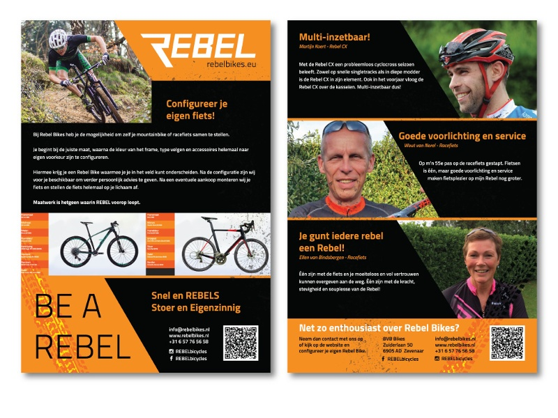 Rebel Bikes Flyer