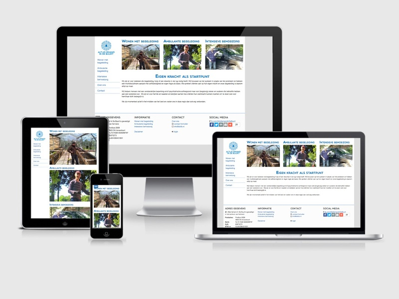 AIIDB responsive website